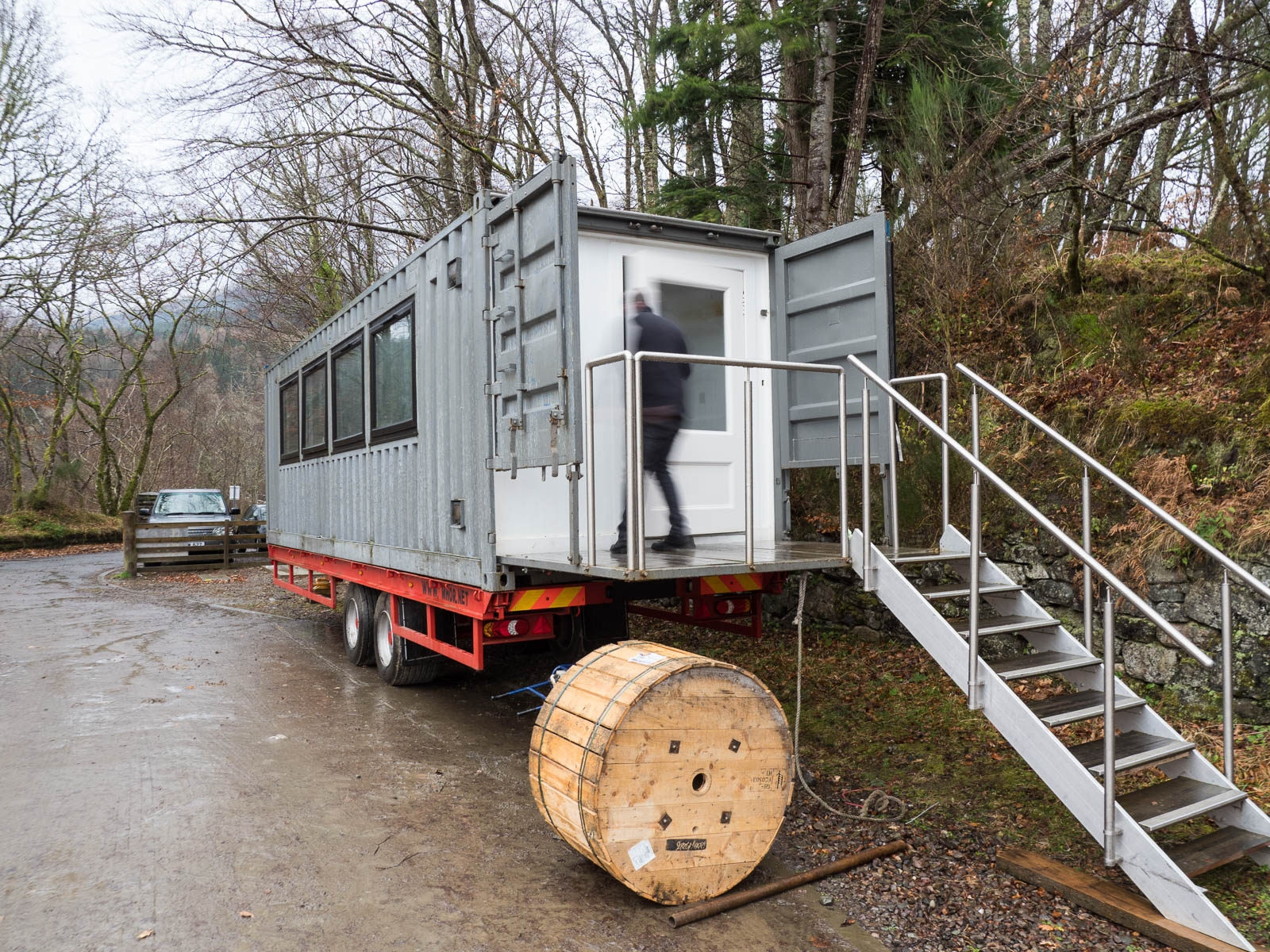 Mhor Mobile Restaurant on hand…