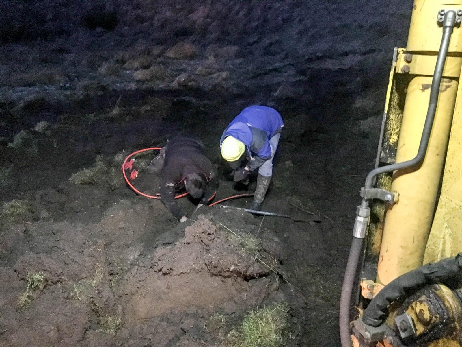 Dedication - digging in the dark